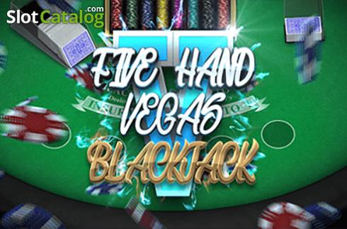Five Hand Vegas Blackjack