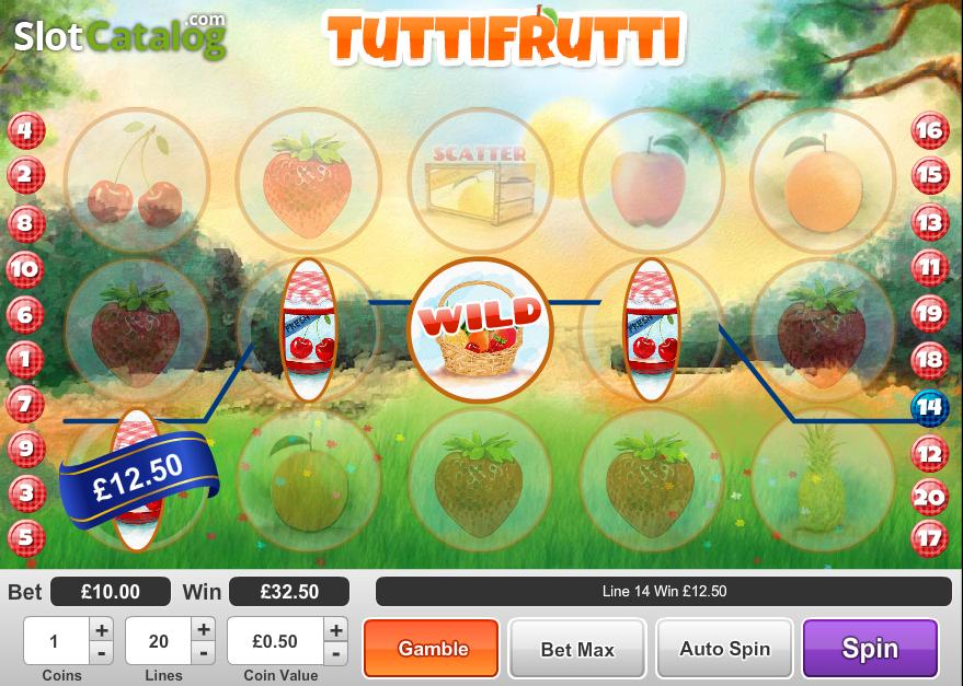 Spiele Tutti Frutti - Video Slots Online