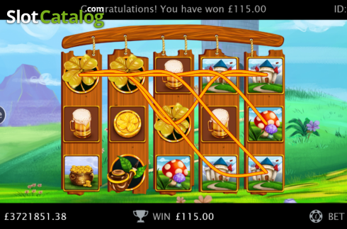 Screen12. Irish Gold (Cozy) (Video Slots from Cozy)