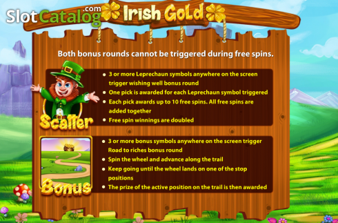 Screen3. Irish Gold (Cozy) (Video Slots from Cozy)