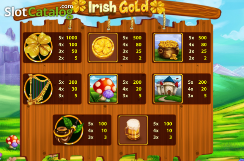 Screen4. Irish Gold (Cozy) (Video Slots from Cozy)
