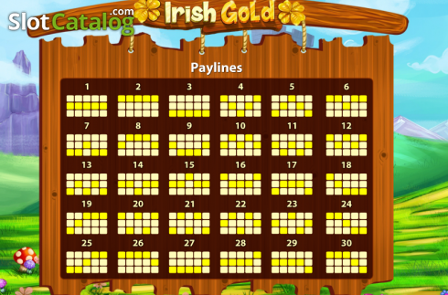 Screen5. Irish Gold (Cozy) (Video Slots from Cozy)