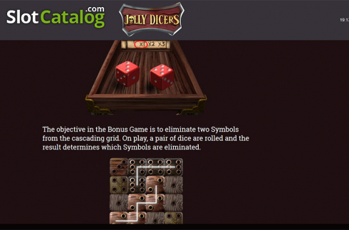Paytable 9. Jolly Dicers (Video Slot from DiceLab)