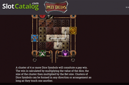 Paytable 1. Jolly Dicers (Video Slot from DiceLab)