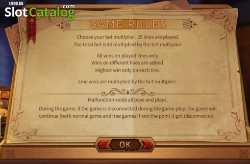 Game Rules. Secrets of the Pentagram (Video Slot from Dream Tech)