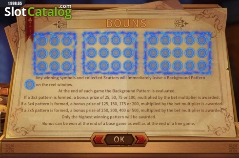 Features 2. Secrets of the Pentagram (Video Slot from Dream Tech)
