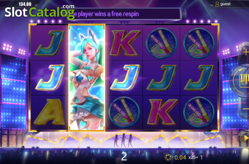 Respin Feature. Sexy Girls (Video Slots from Dream Tech)