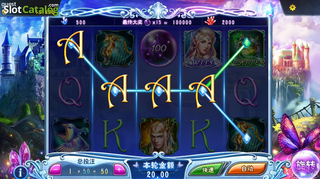 Elves Kingdom (Video Slot from Dream Tech) ...