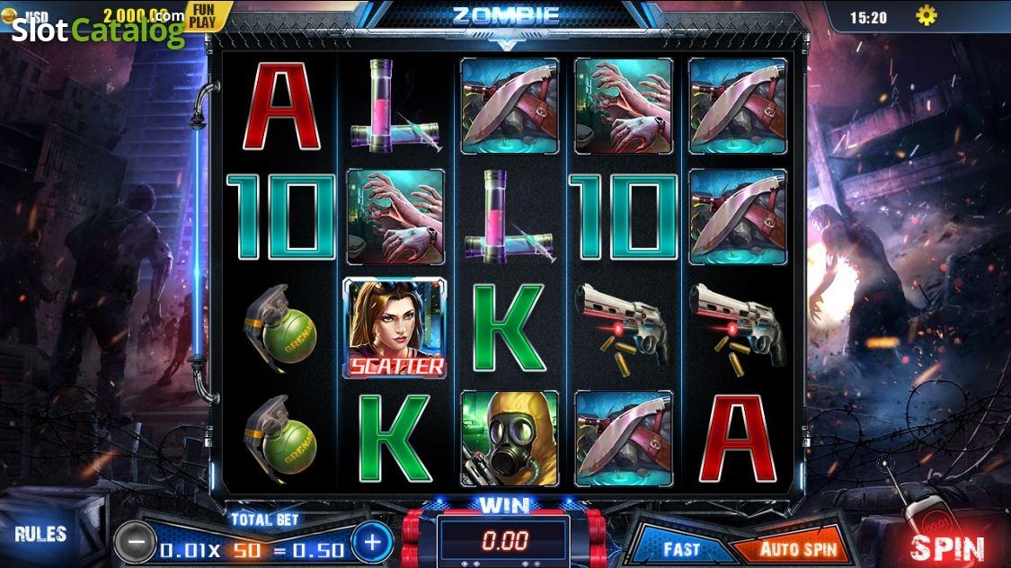 Spiele Zombie Outbreak - Video Slots Online