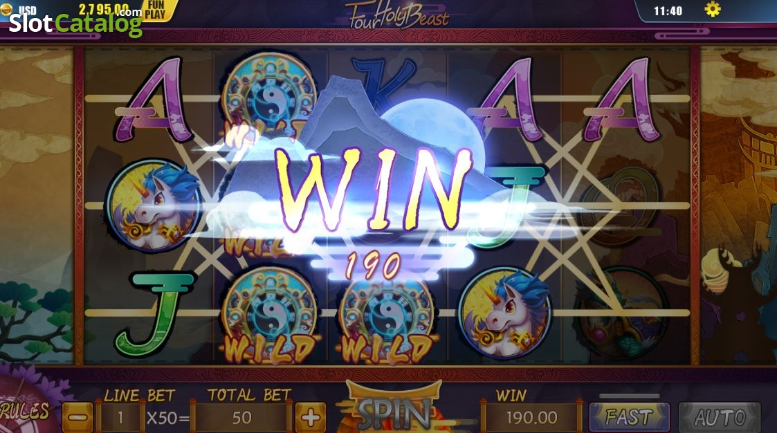 Spiele Four Holy Beast - Video Slots Online