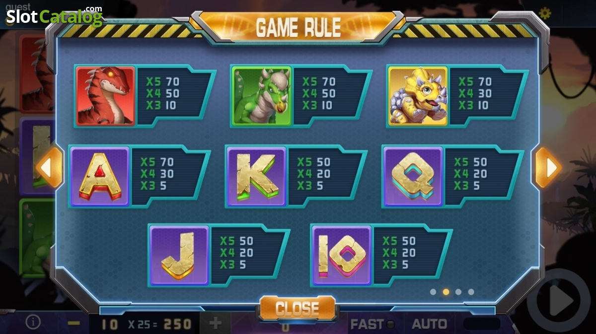 Spiele Digging For Dinosaurs - Video Slots Online