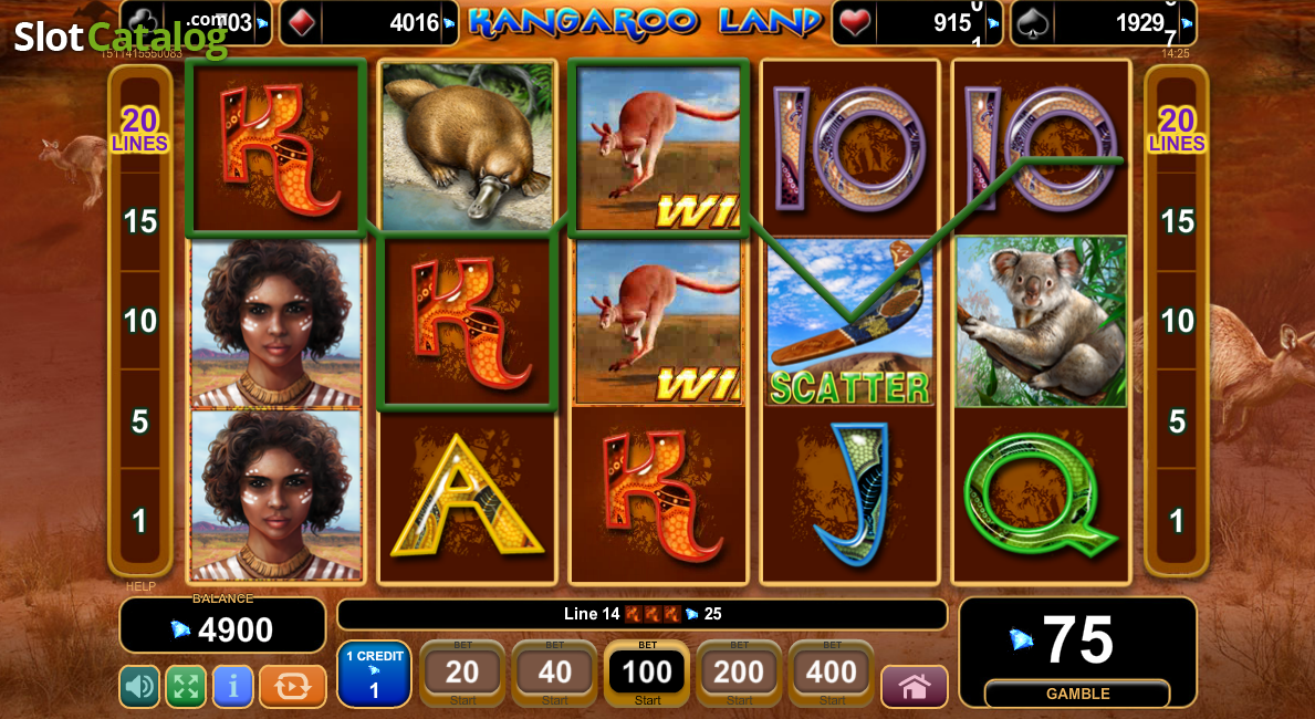 slot games online kangaroo land