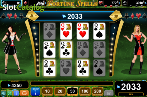 Screen10. Fortune Spells (Video Slot from EGT)