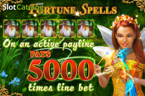 Screen1. Fortune Spells (Video Slot from EGT)