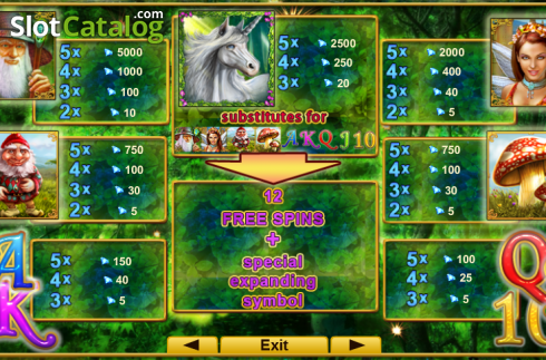 Screen2. Fortune Spells (Video Slot from EGT)