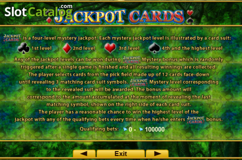 Screen5. Fortune Spells (Video Slot from EGT)