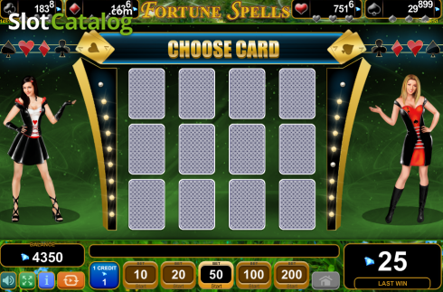 Screen9. Fortune Spells (Video Slot from EGT)
