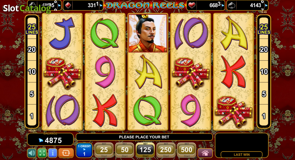 Dragon Reels Slots - Read a Review of this EGT Casino Game