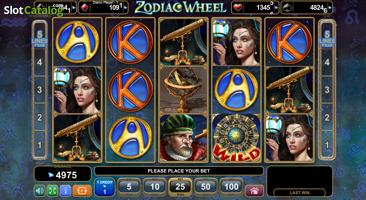 Spiele Zodiac Wheel - Video Slots Online