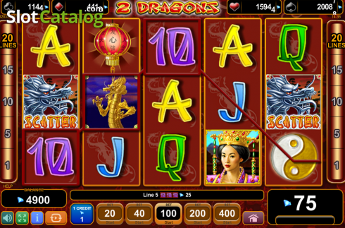 Screen8. 2 Dragons (Video Slot from EGT)