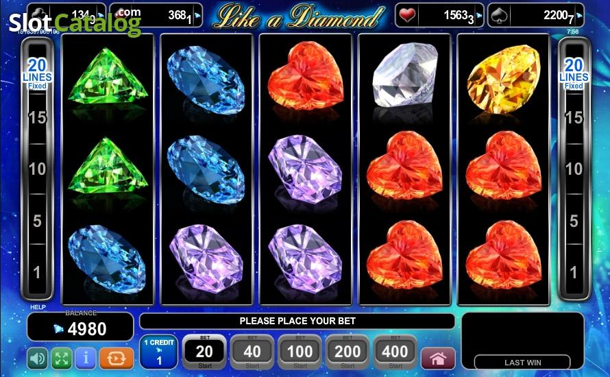 online casino game like a diamond