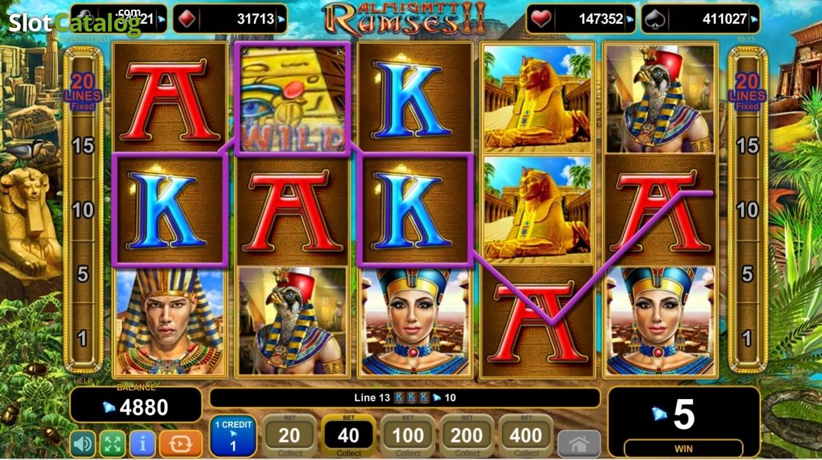 Spiele Almighty Ramses II - Video Slots Online