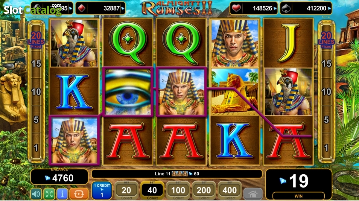 Usa almighty ramses 2 egt slot game upcoming igre