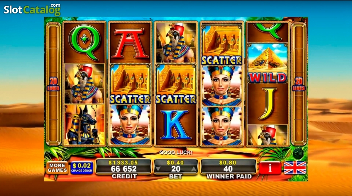 Almighty ramses 2 egt slot game fails