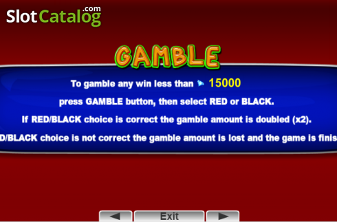 Paytable 3. 30 Spciy Fruits (Video Slot from EGT)
