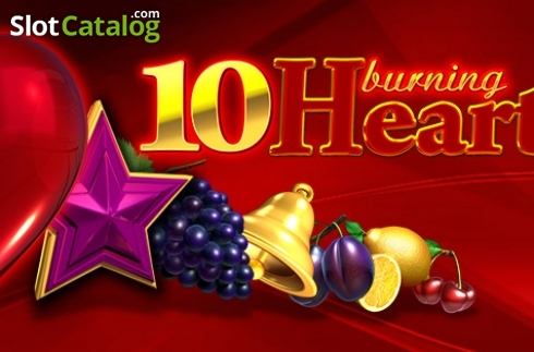 10 Burning Heart (Video Slot z EGT)