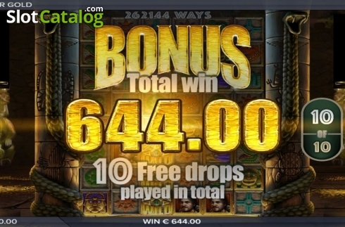 Free Spins Win. Ecuador Gold (Video Slot from ELK Studios)