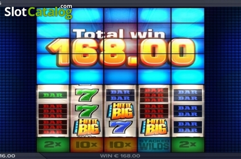 Bonus Game. Hit It Big (Video Slot from ELK Studios)