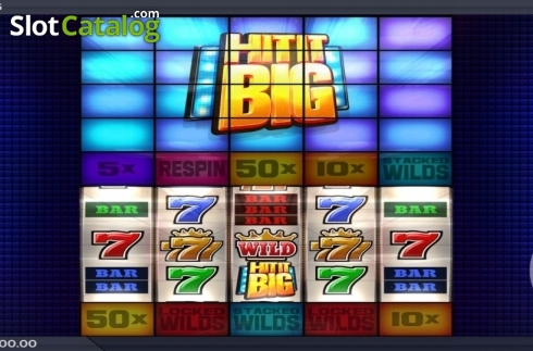 Game Screen. Hit It Big (Video Slot from ELK Studios)