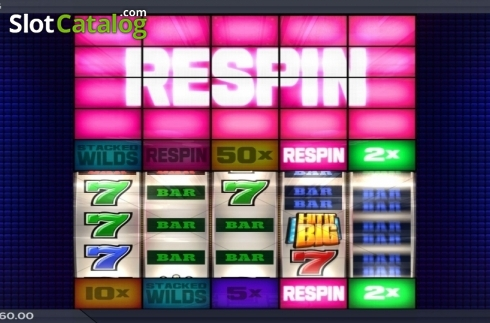 Respin Feature. Hit It Big (Video Slot from ELK Studios)