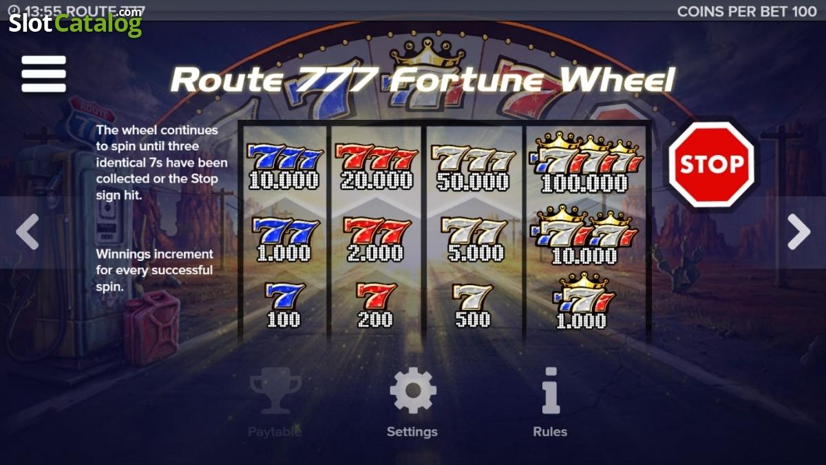 route 777 casino
