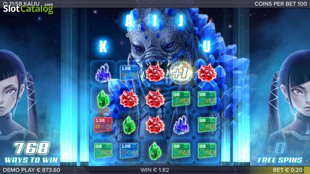 Spiele Kaiju - Video Slots Online