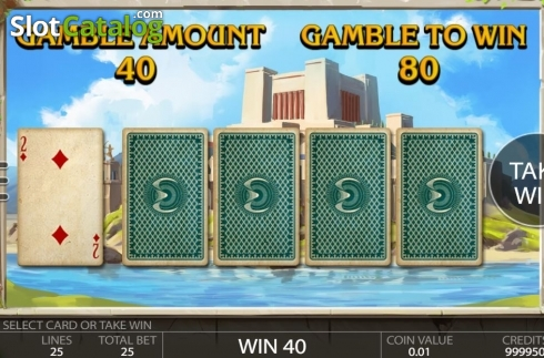 Gamble. Ancient Troy (Video Slot from Endorphina)