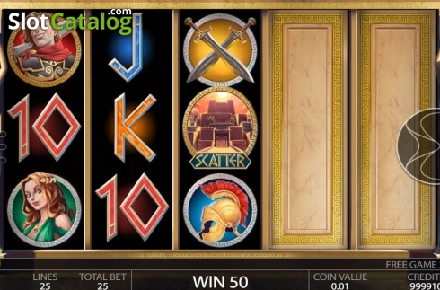 Free Spins Reels. Ancient Troy (Video Slot from Endorphina)