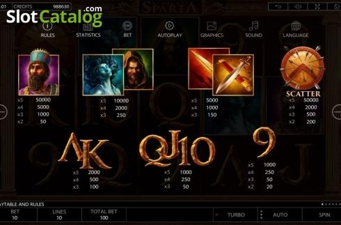 Spiele Almighty Sparta - Video Slots Online