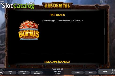 Spiele Aus Dem Tal - Video Slots Online