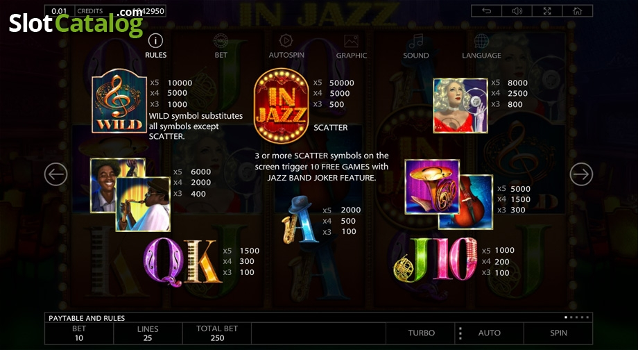In Jazz Slot Review, Bonus Codes & where to play from United Kingdom