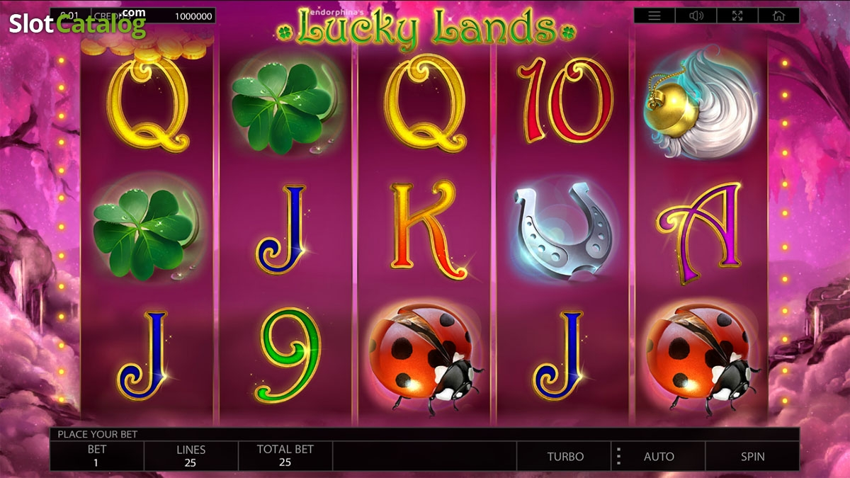 Lucky Lands Slot Review, Bonus Codes & where to play from United Kingdom