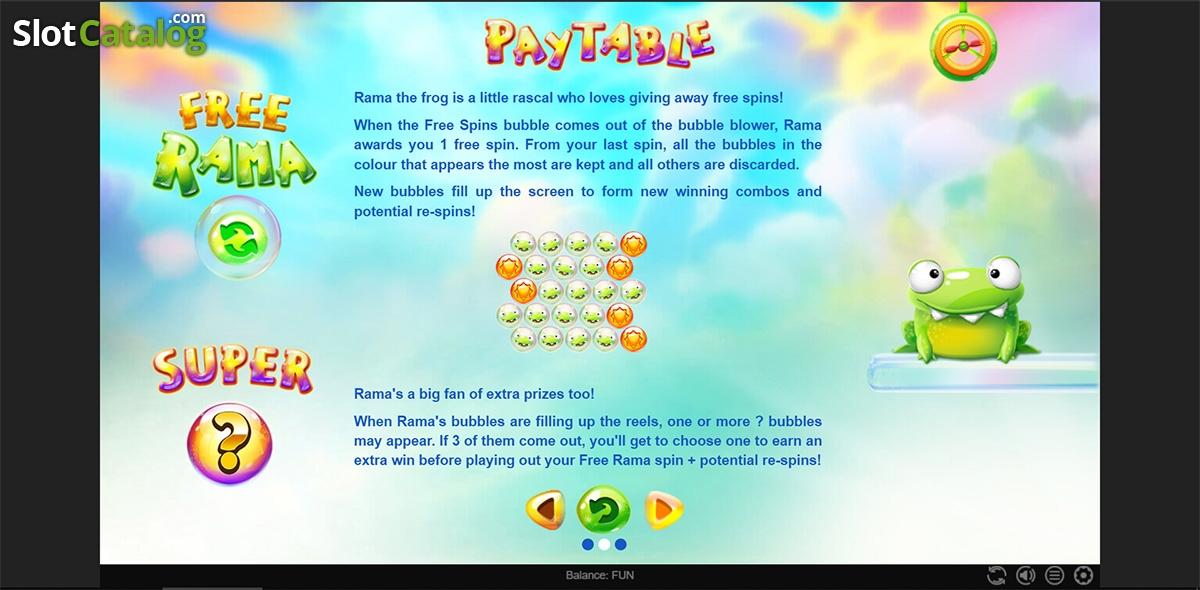 Spiele Bubble Rama - Video Slots Online