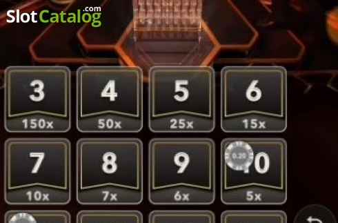 Game Screen 2. Lightning Dice (Live Casino from Evolution Gaming)