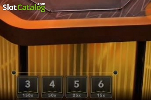 Game Screen 4. Lightning Dice (Live Casino from Evolution Gaming)