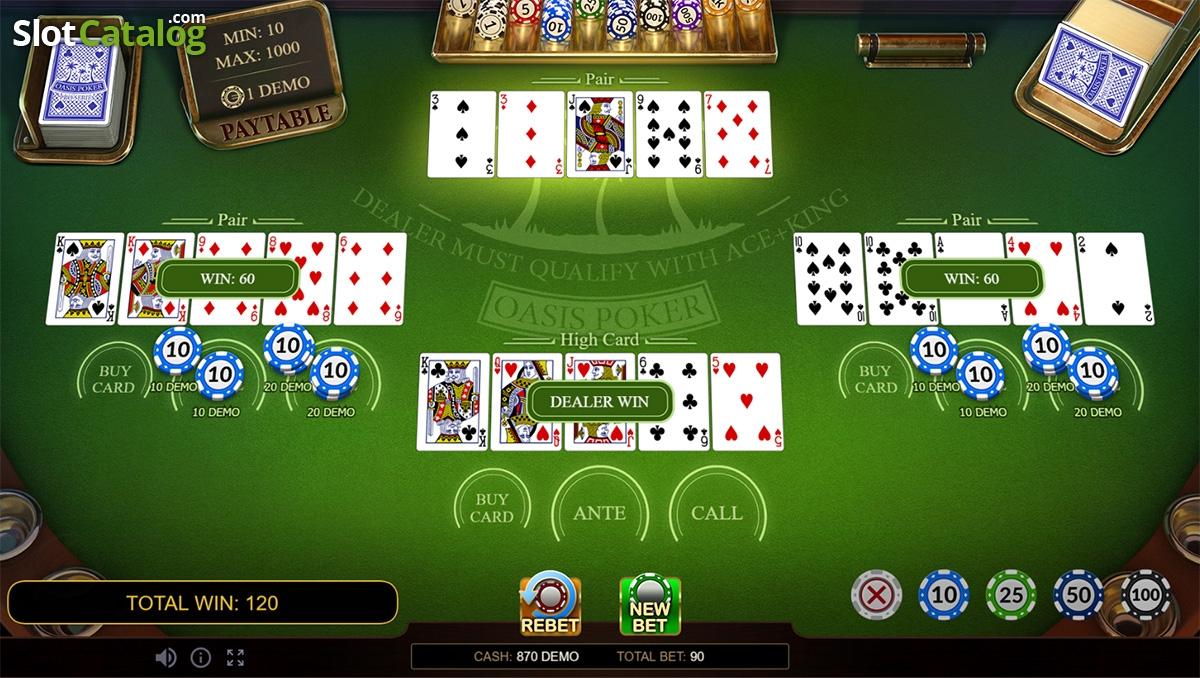 Oasis Poker Pro Series Game ᐈ Free Demo Game