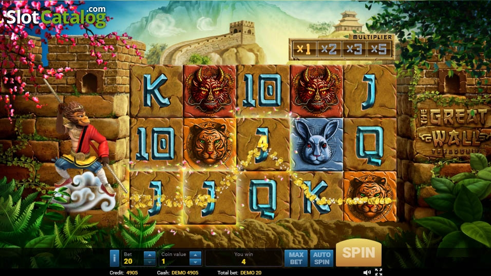 Spiele The Great Wall - Video Slots Online