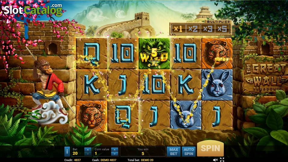 Spiele The Great Wall - Video Slots Online