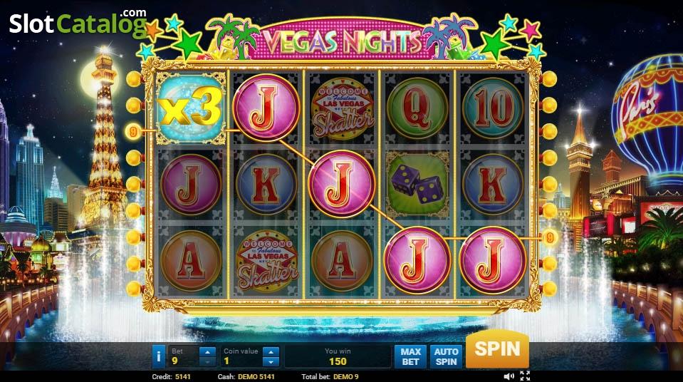 Vegas Nights Games