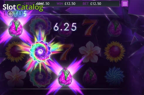 Skärm6. Crystal Lotus (Video Slot från Eyecon)